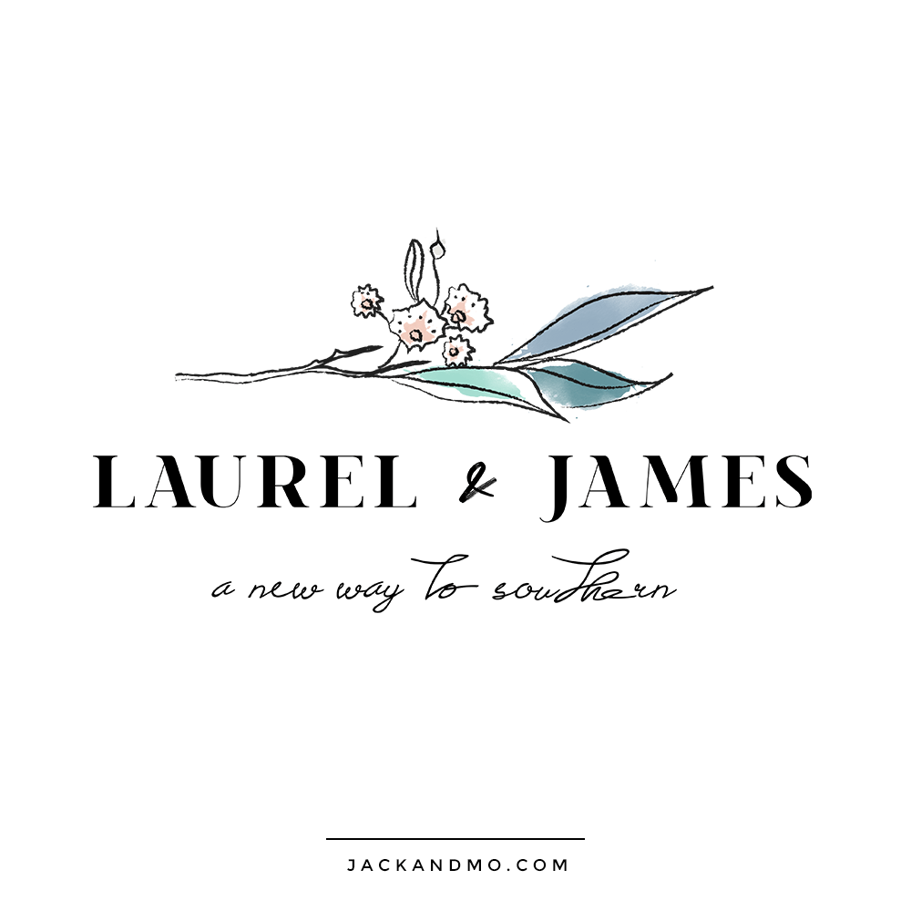 Custom Logo Design for Lance Bass, Laurel and James, by Jack and Mo