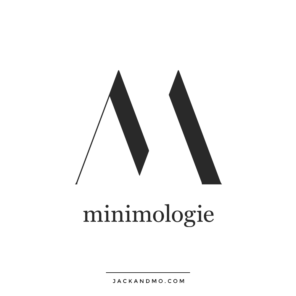 Cool Simple Modern Minimalist Logo Design by Jack and Mo
