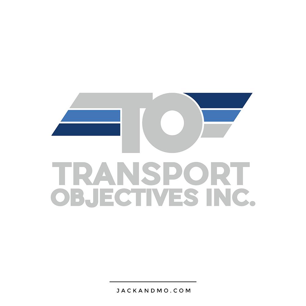 Custom Trucking Logo, Retro Design by Jack and Mo