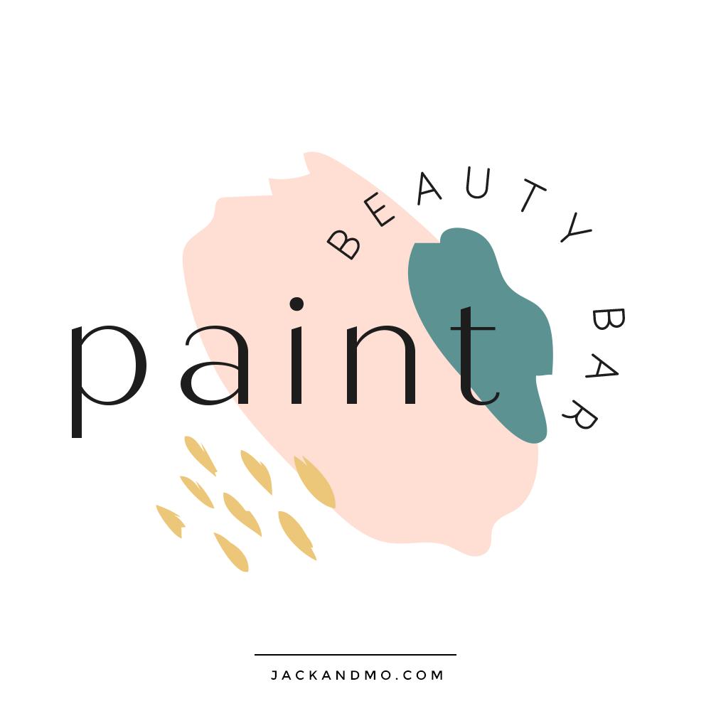 Beauty Bar and Salon Custom Logo Design by Jack and Mo