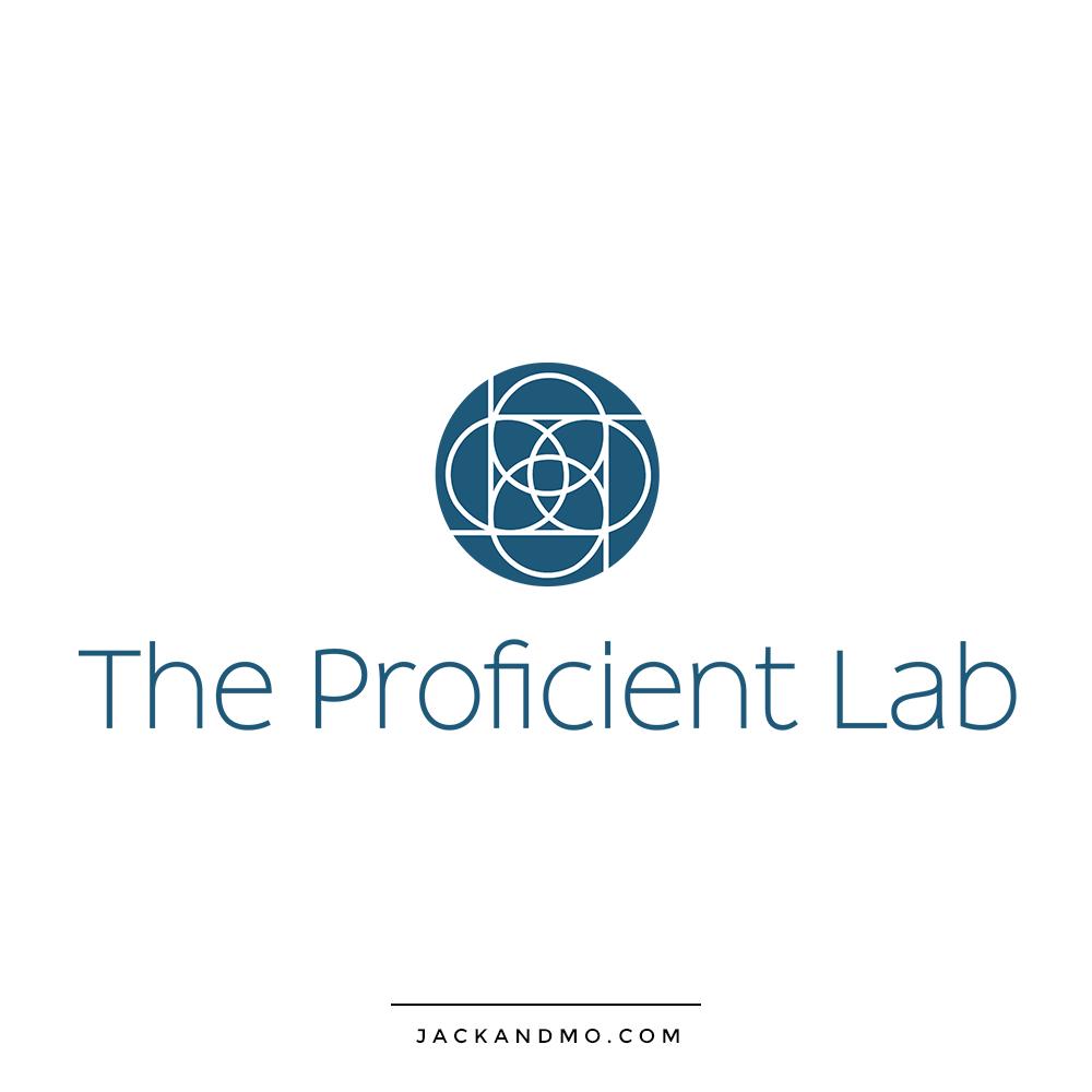 Proficient Lab Logo Design Modern Corporate