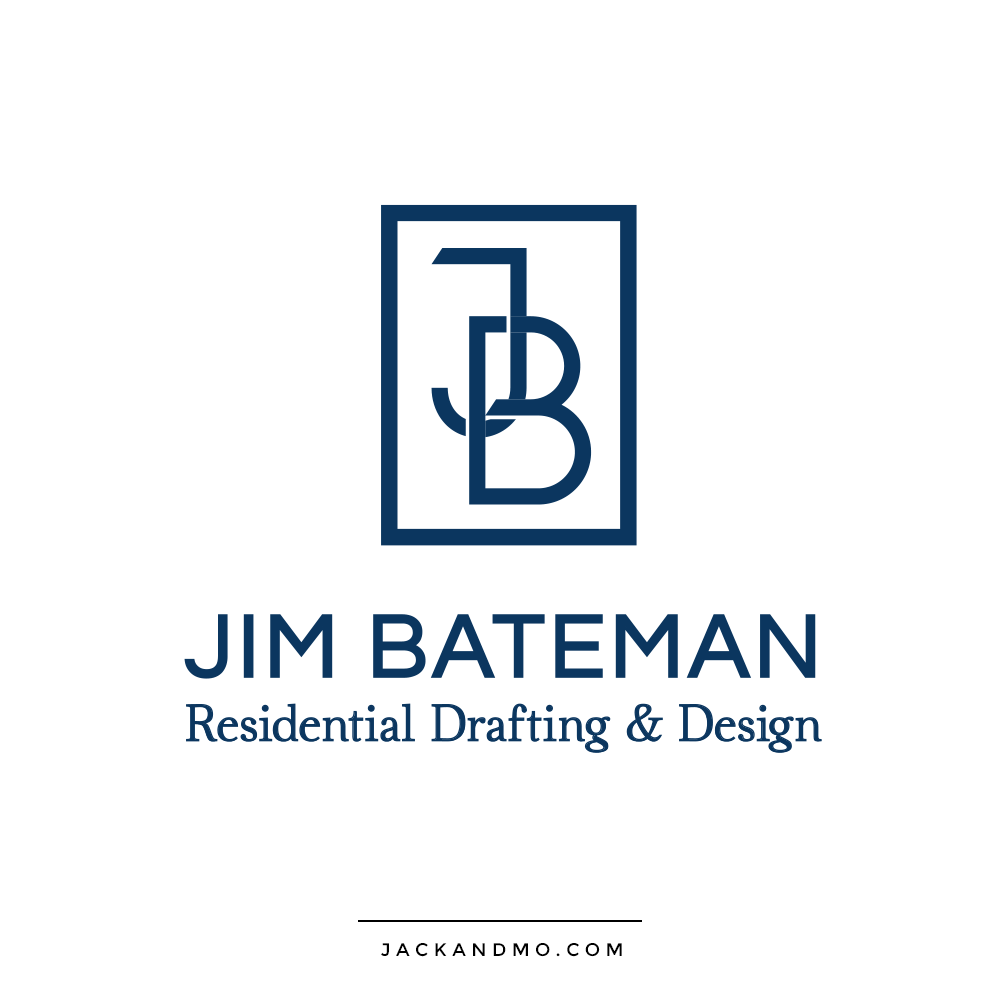 Residential Drafting and Design Architect Logo Design by Jack and Mo