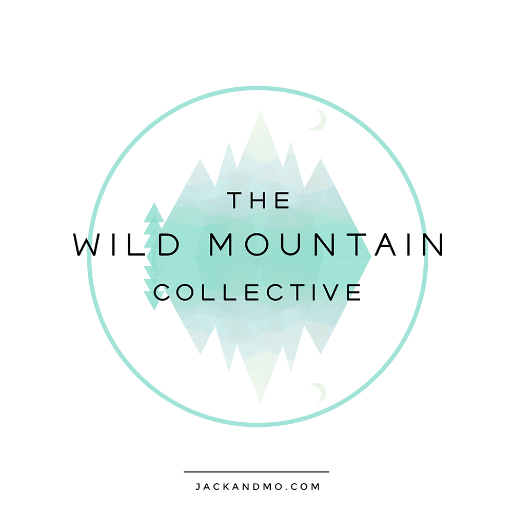 Wild Mountain Collective Custom Logo Design by Jack and Mo