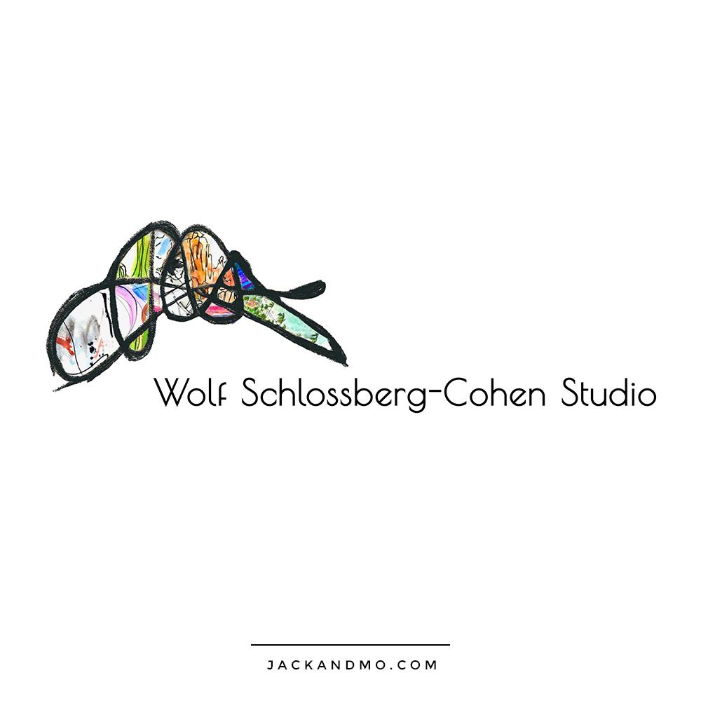 Logo Design for Artist Jay Wolf Schlossberg-Cohen, Modern Artists
