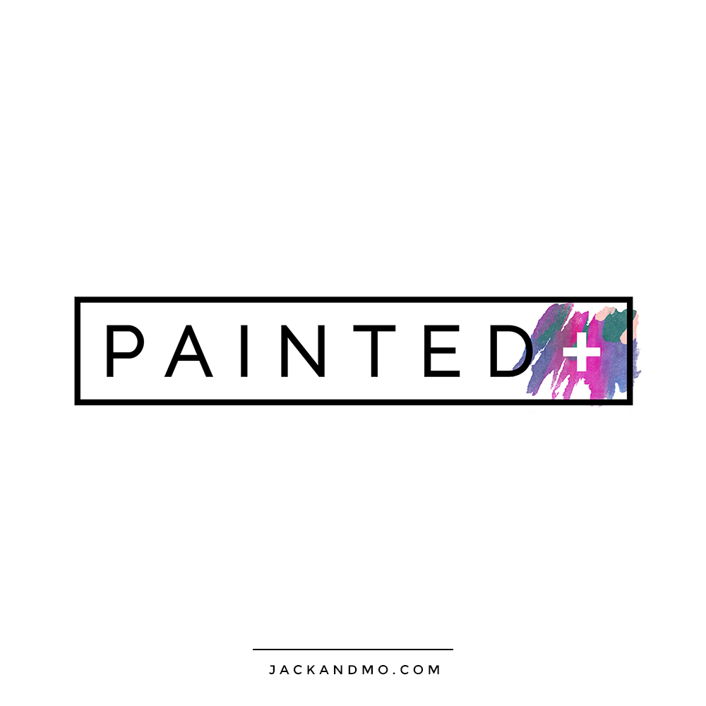 Beautifully Painted Logo Design by Jack and Mo