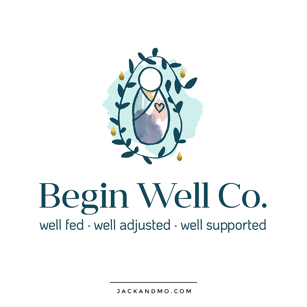 Chiropractic Baby Wellness Logo Design by Jack and Mo