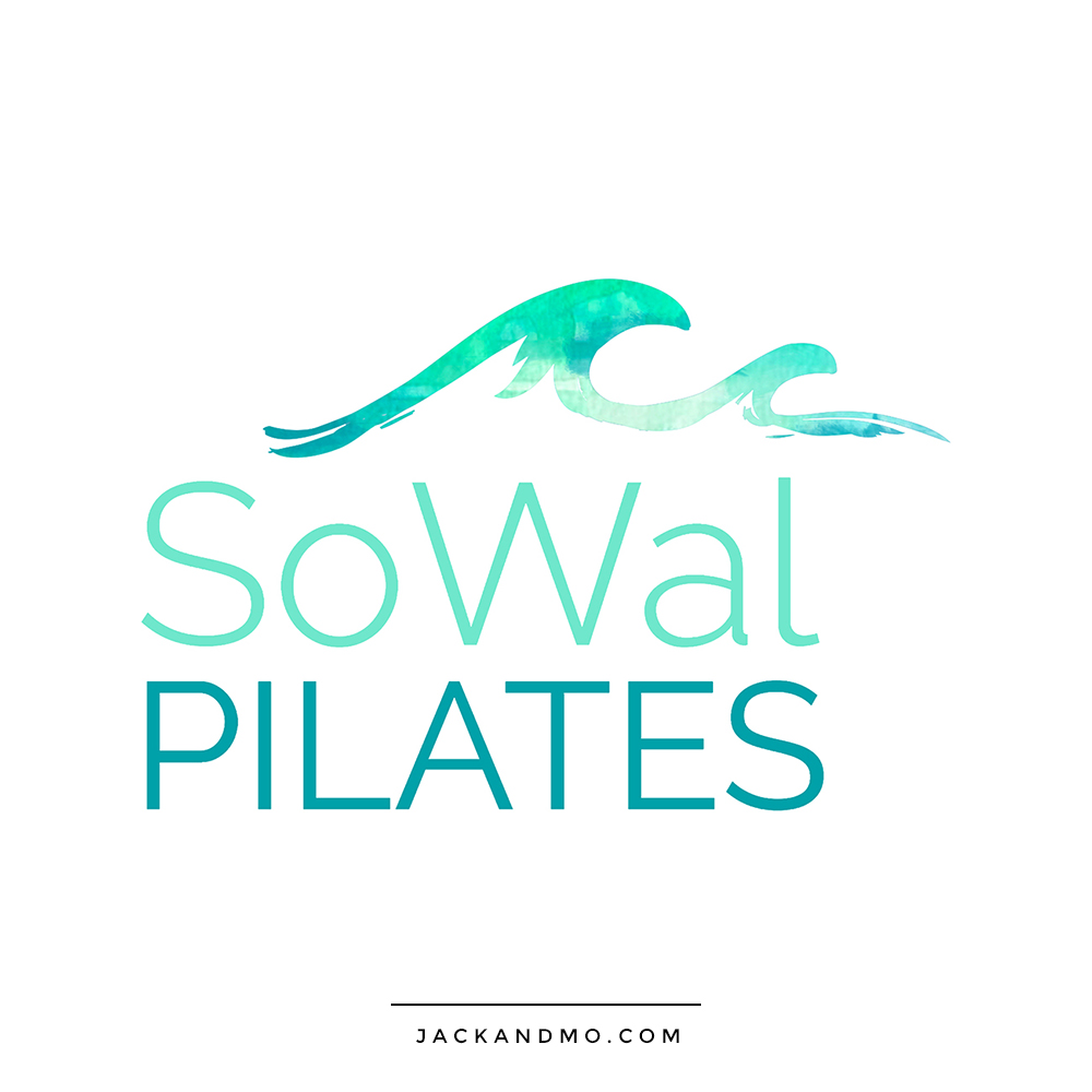 Ocean Wave Pilates Studio Logo Design by Jack and Mo